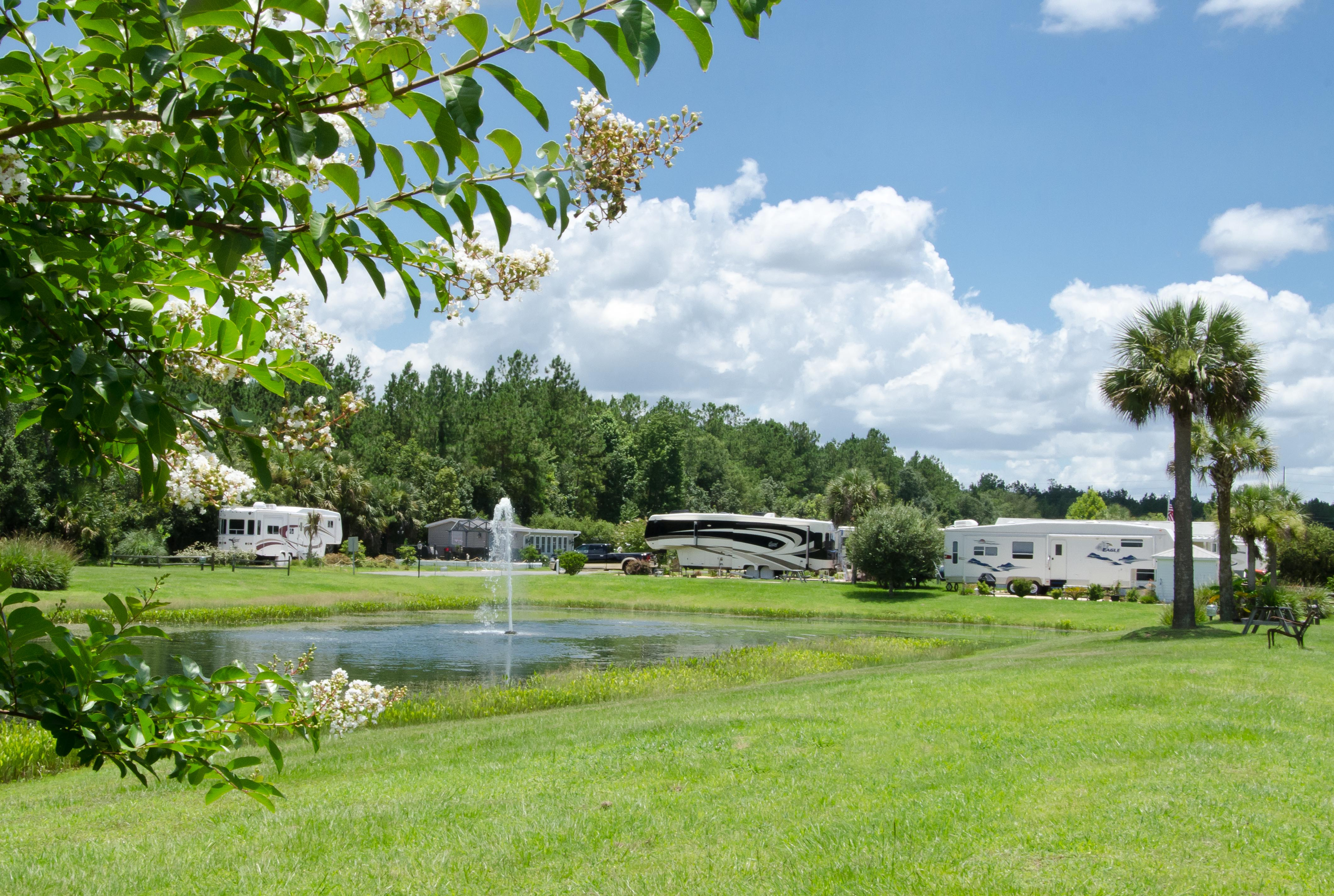 Town Park At Wilderness Rv Resorts At Silver Springs In